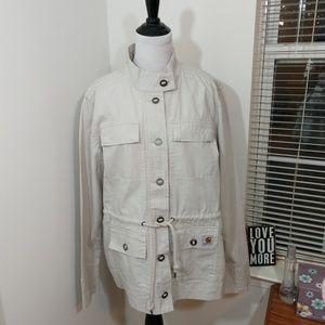 🆕Women's Carhartt Utility Jacket in Putty